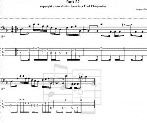 funk 22 Charpentier Musique